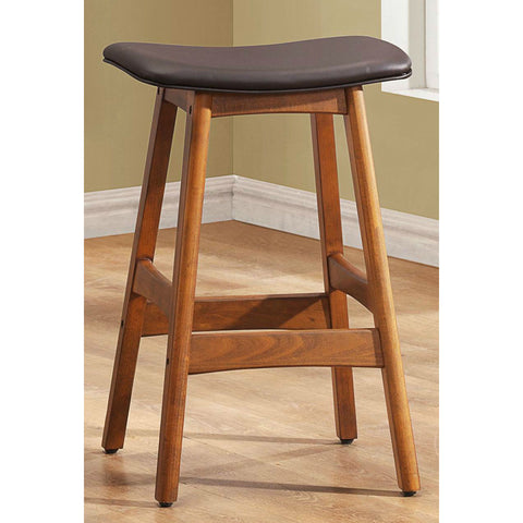 Homelegance Ride Counter Height Stool w/ Brown Seat