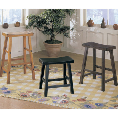 Homelegance Saddleback 24 Inch Stool