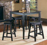 Homelegance Saddleback 5 Piece Counter Dining Room Set