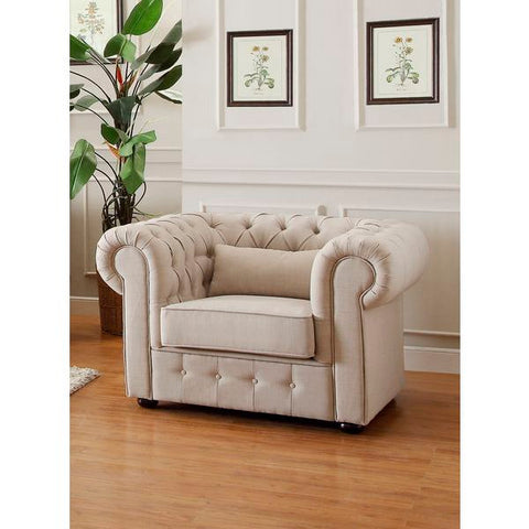 Homelegance Savonburg Chair, 1 Pillow In Polyester