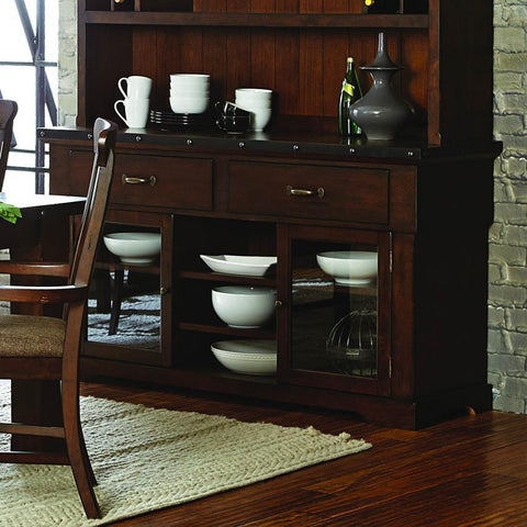 Homelegance Schleiger Buffet/Server in Burnished Brown