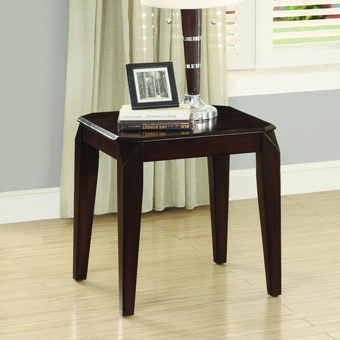 Homelegance Sikeston End Table in Cherry