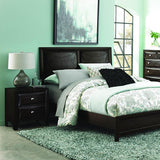 Homelegance Summerlin 2 Piece Platform Bedroom Set in Espresso