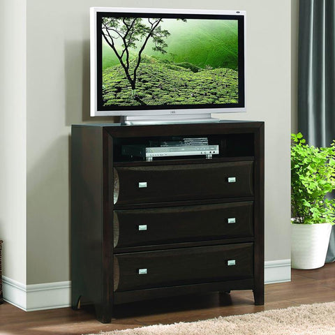 Homelegance Summerlin 3 Drawer TV Chest in Espresso
