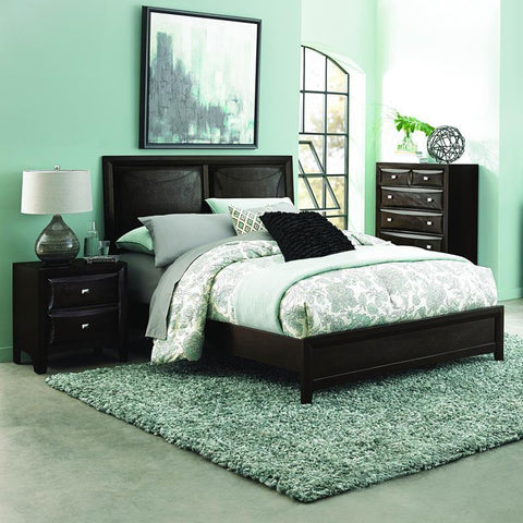 Homelegance Summerlin 3 Piece Platform Bedroom Set in Espresso