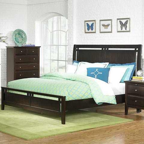 Homelegance Verano Platform Bed in Espresso
