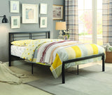 Homelegance Willa Metal Platform Bed in Black