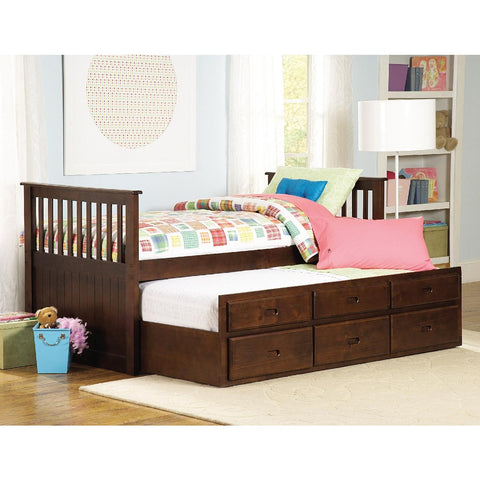 Homelegance Zachary Twin/Twin Trundle Bed