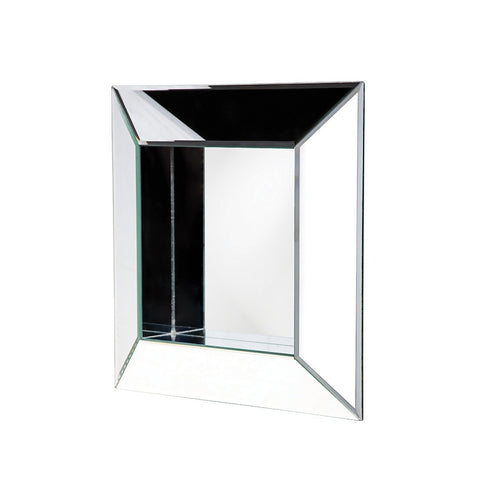 Howard Elliott 11034 Amalfi Contemporary Box Frame Glass Mirror