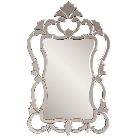 Howard Elliott 11103 Contessa Mirrored Ornate,Traditional Venetian Style Frame Mirror