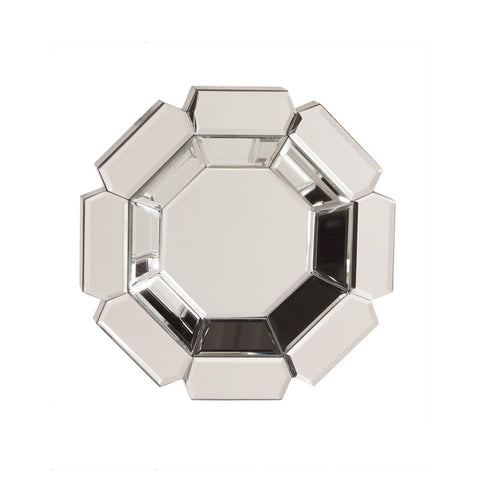 Howard Elliott 11116 Charisma Multi-faceted Octagonal Mirrored Mirror (sold individually)