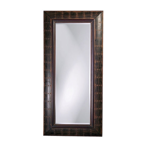 Howard Elliott 33017 Pamela French Brown w/ Antique Rust Highlights Mirror