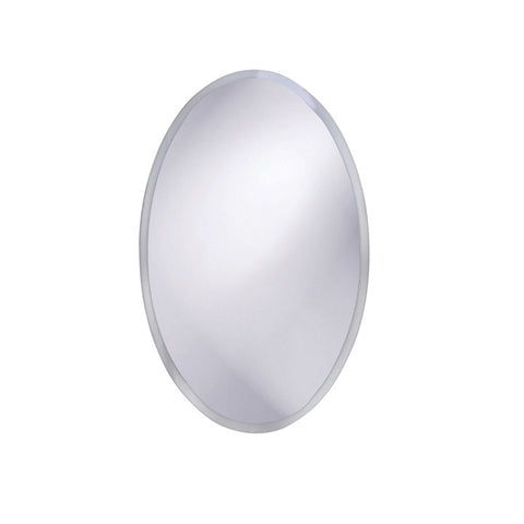 Howard Elliott 36002 Oval Beveled Frameless Mirror
