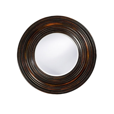 Howard Elliott 37004 Canton BrownMirror w/ Bronze