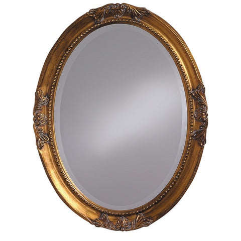 Howard Elliott 4014 Queen Ann Antique Gold Leaf Mirror
