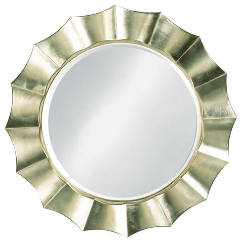 Howard Elliott 6019 Corona Silver Leaf Mirror