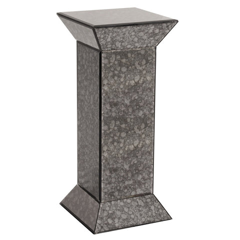 Howard Elliott 99005 Grey Antiqued Mirrored Pedestal