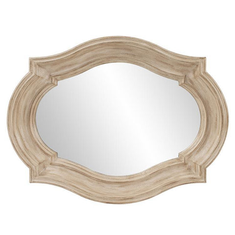 Howard Elliott Aubrey Rustic Quatrefoil Mirror - Large