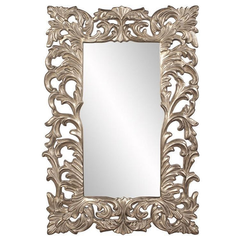 Howard Elliott Augustus Antique Silver Mirror