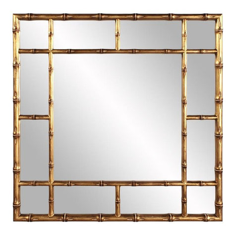 Howard Elliott Bamboo Gold Mirror