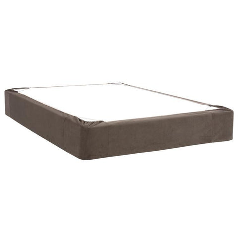 Howard Elliott Bella Pewter Twin Boxspring Cover