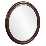 Howard Elliott George Brown Round Mirror