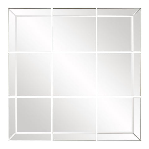 Howard Elliott Grid Mirrored Mirror