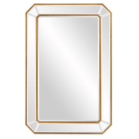 Howard Elliott Leopold Rectangle Mirror