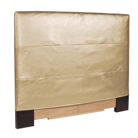 Howard Elliott Luxe Gold Slipcovered Headboard