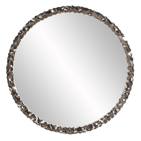 Howard Elliott Memphis Round Nickel Mirror