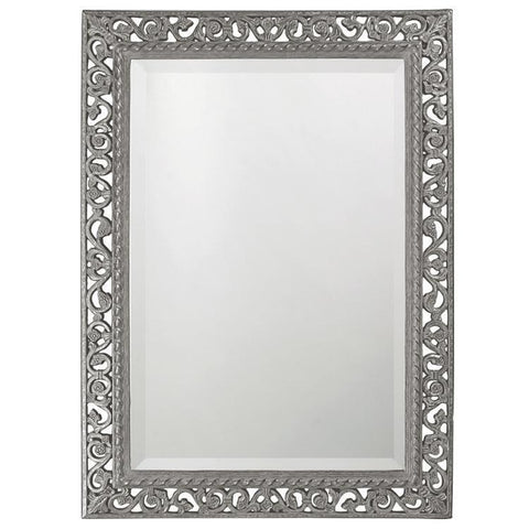 Howard Elliott Rectangle Bristol Glossy Nickel Mirror