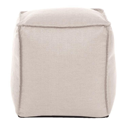 Howard Elliott Sterling Sand Howard Elliott Square Pouf
