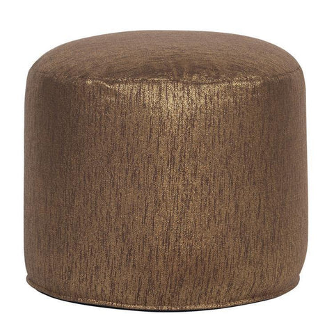 Howard Elliott Tall Pouf Glam Chocolate