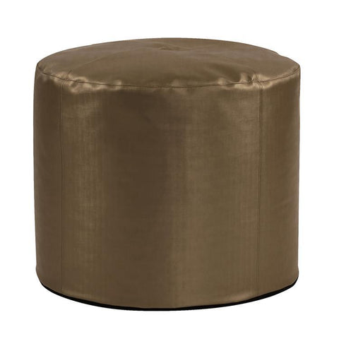 Howard Elliott Tall Pouf Luxe Bronze