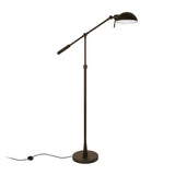 Hudson & Canal Dexter Tilting Brushed Bronze Floor Lamp