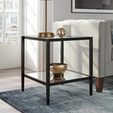 Hudson & Canal Hera Side Table Blackened bronze finish