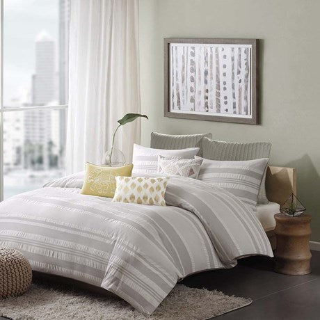 INK+IVY Lakeside Comforter Mini Set In Grey