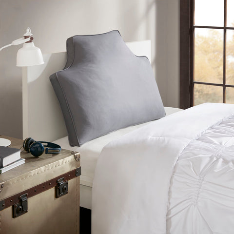 Intelligent Design Oversized Headboard 100% Cotton Canvas Pillow