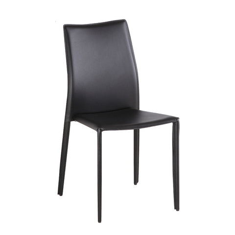 J&M Furniture C031B J&M Black Dining Chair