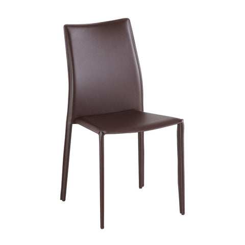 J&M Furniture C031B J&M Brown Dining Chair