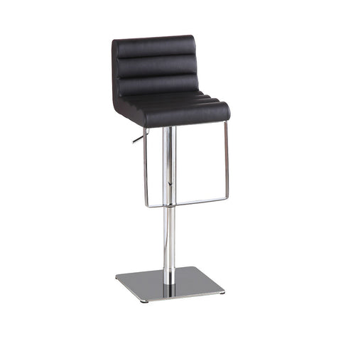J&M Furniture C192-3 Black Swivel Barstool