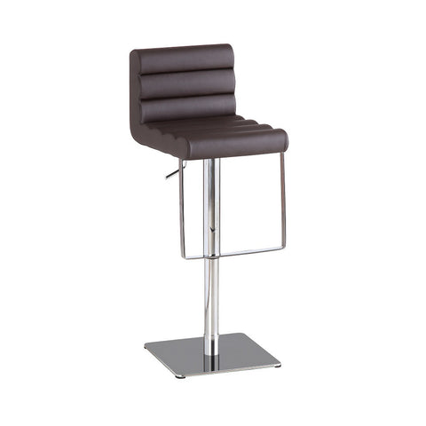 J&M Furniture C192-3 Brown Swivel Barstool