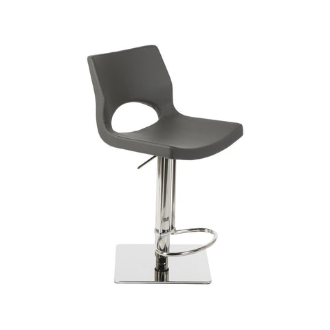 J&M Furniture C203-3 Swivel Barstool in Grey