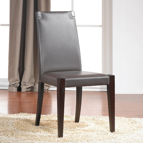 J&M Furniture Colibri Dining Chair in Dark Oak