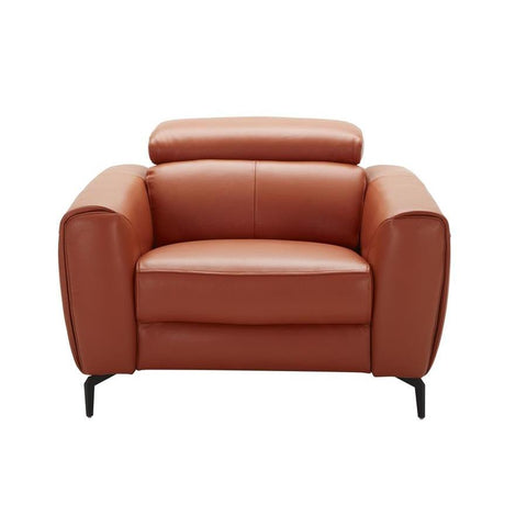 J&M Furniture Cooper Chair in Pumpkin