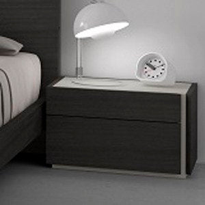 J&M Furniture Faro Nightstand in Wenge