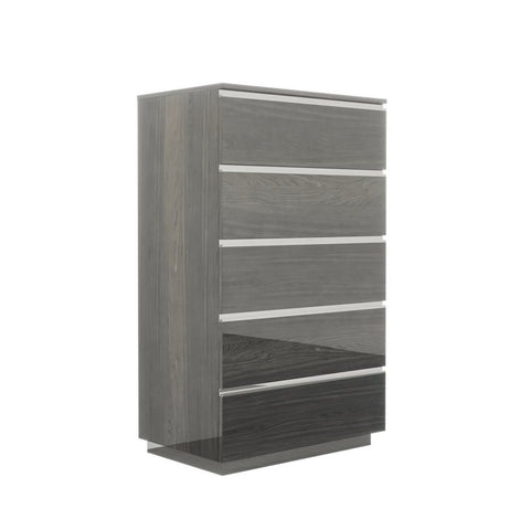 J&M Furniture Hazel Chest in Grey