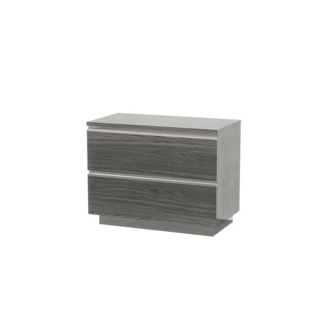 J&M Furniture Hazel Nightstand in Grey