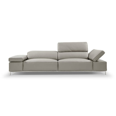 J&M Furniture I800 Sofa in Light Grey