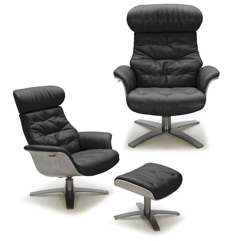 J&M Furniture Karma Chair in Black